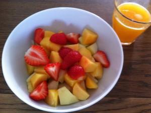 perfect ontbijt voor zomer
